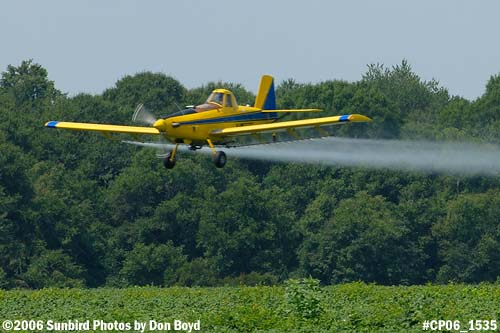 Dixon Brothers Flying Service Air Tractor AT-402 N4555E crop duster aviation stock photo #CP06_1535