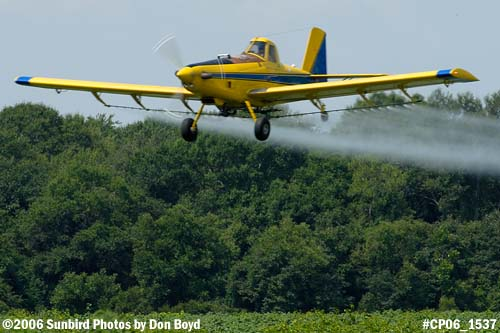 Dixon Brothers Flying Service Air Tractor AT-402 N4555E crop duster aviation stock photo #CP06_1537