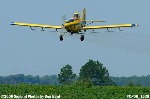 Dixon Brothers Flying Service Air Tractor AT-402 N4555E crop duster aviation stock photo #CP06_1539