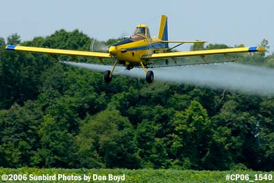 Dixon Brothers Flying Service Air Tractor AT-402 N4555E crop duster aviation stock photo #CP06_1540