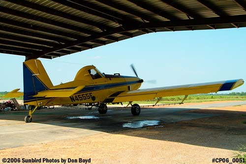 Dixon Brothers Flying Service Air Tractor AT-402 N4555E crop duster aviation stock photo #CP06_0051