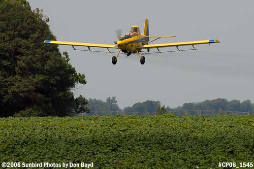 Dixon Brothers Flying Service Air Tractor AT-402 N4555E crop duster aviation stock photo #CP06_1545