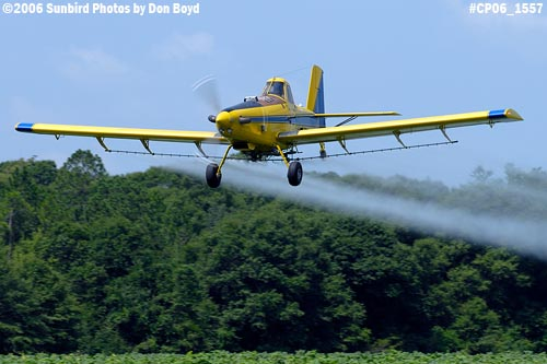 Dixon Brothers Flying Service Air Tractor AT-402 N4555E crop duster aviation stock photo #CP06_1557