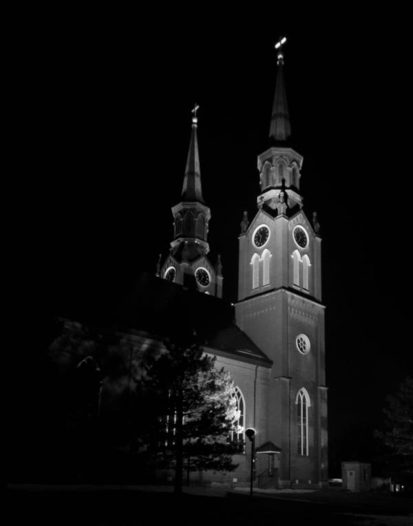 St. Augustine at night