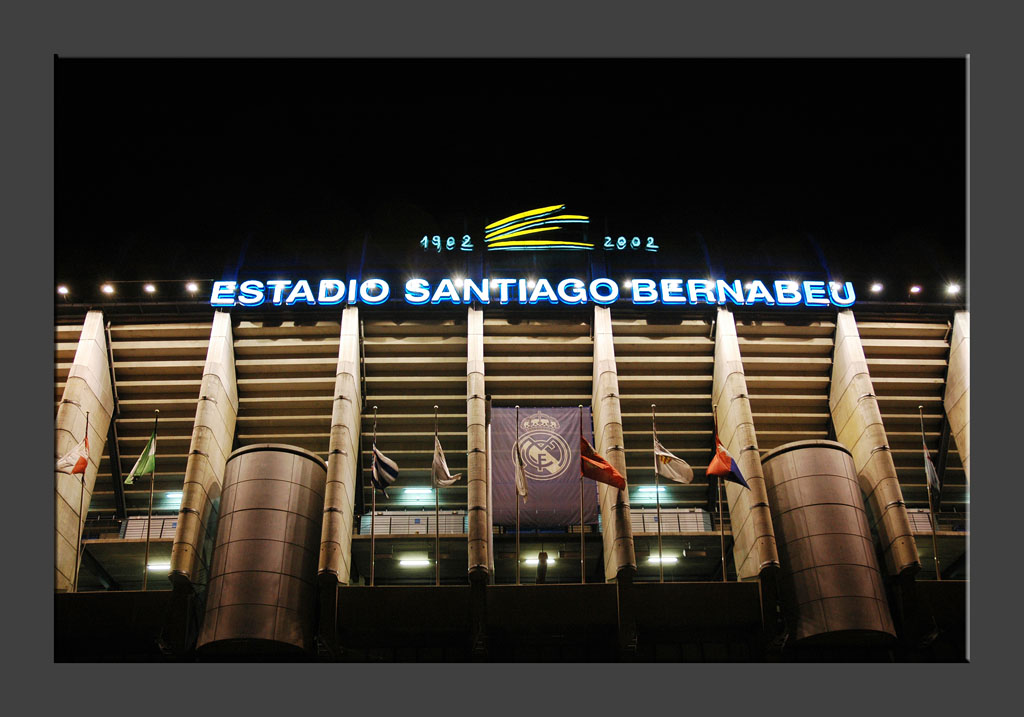 Real Madrid - The Bernabeu