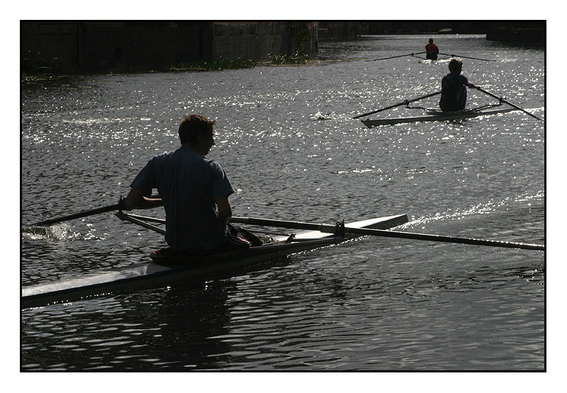 Rowers On The Soar