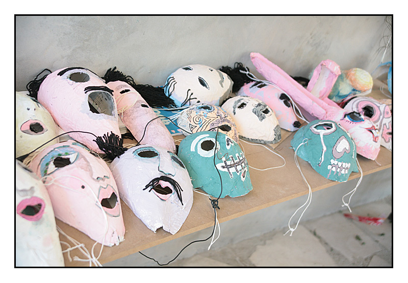 The Kids Make Masks
