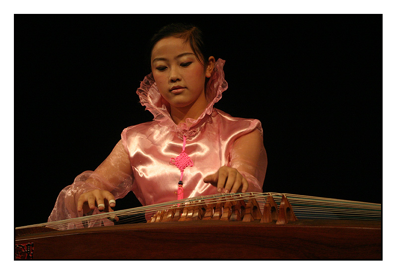 Young Musician From Luizhou - China