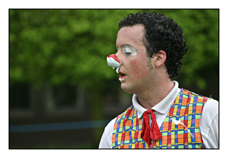 Clown At Lions Carnival