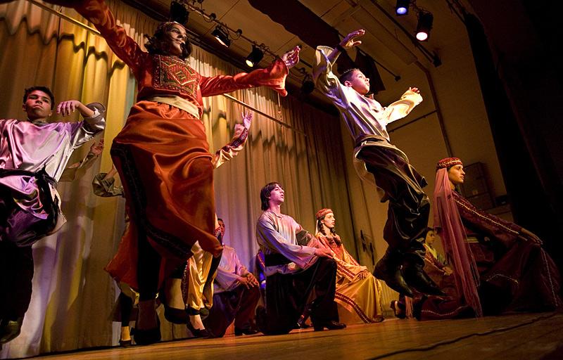 Debke Dancers From Ayda Camp
