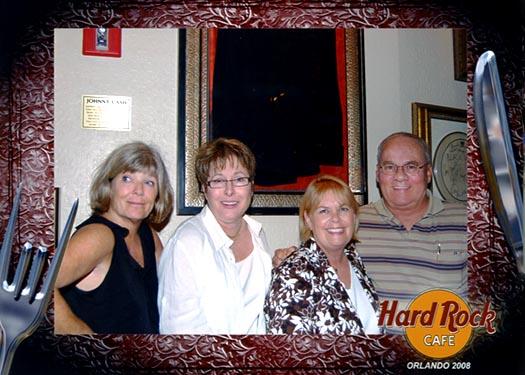 2008 - Brenda Reiter, Linda Mitchell Grother, Karen and Don