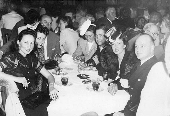 1943 - the Congers and Highs at the Clover Club in Miami