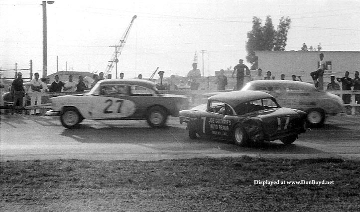 1964 - Joe Guthries Auto Repair sponsored car racing at Palmetto Speedway, Medley