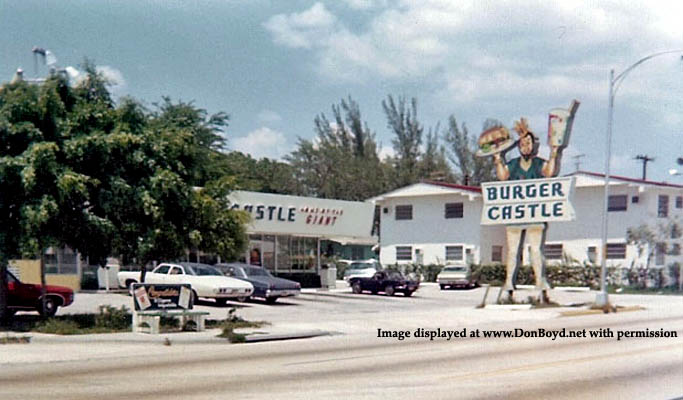 1972 - Burger Castle on NW 7th Street, Miami