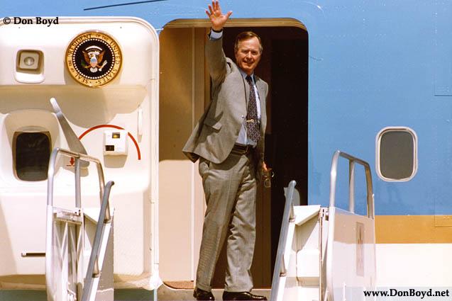 Early 1990s - President George H. W. Bush