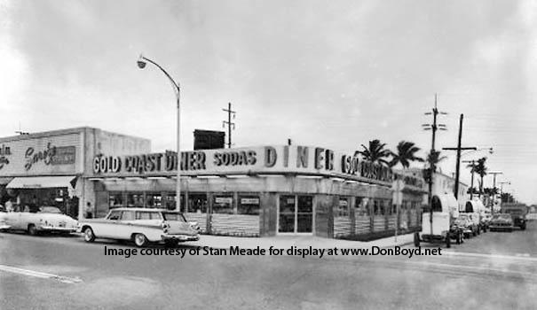 1950s - the Gold Coast Diner on Miami Beach