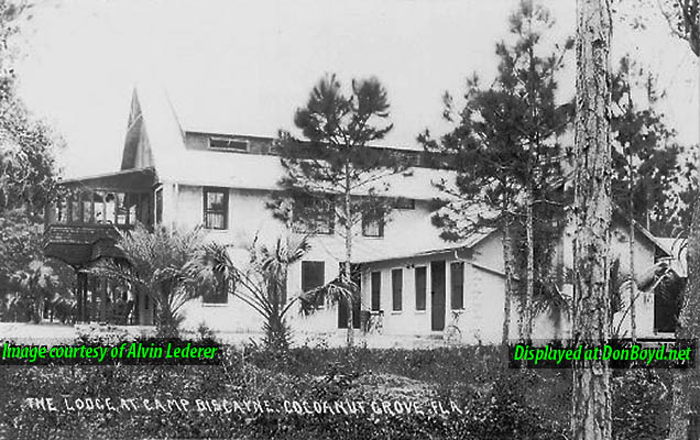 1920s - The Lodge at Camp Biscayne in Cocoanut Grove