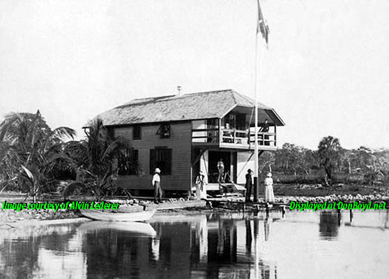 1920s - Ralph Munroes boat house at 3485 Main Highway, Cocoanut Grove
