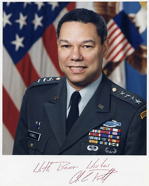 Early 90s - General Colin Powell, Chairman of the Joint Chiefs of Staff