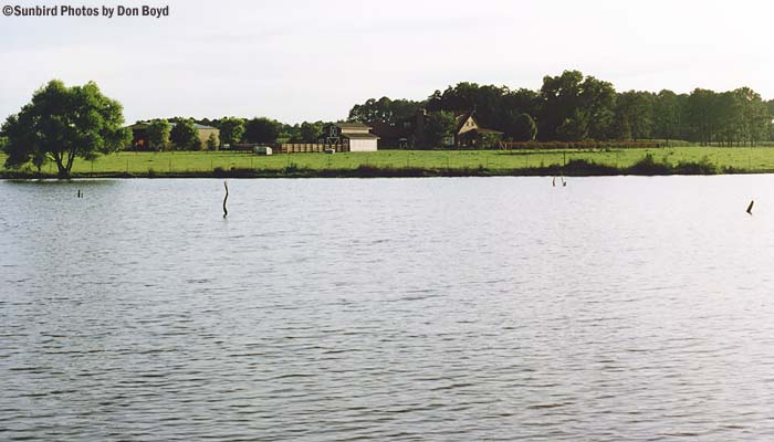 Early 1990s - the Griner pond, farm and home