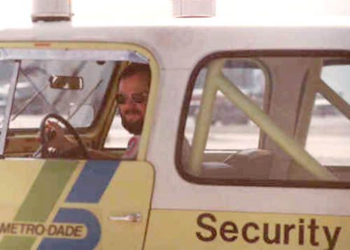 Late 1970s/Early 1980s - Airport Security Supervisor Luis Morales