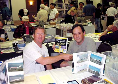 2002 - Joes hot book displayed by Richard Silagi at SFO Airliner Show