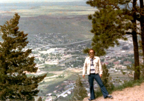 1975 - Don Boyd somewhere near the Coors Brewery in Golden