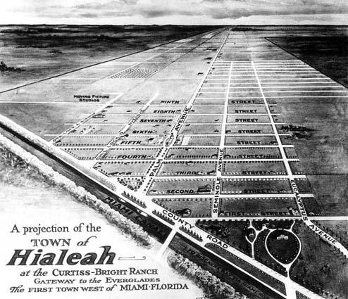 1921 - the Hialeah development plan