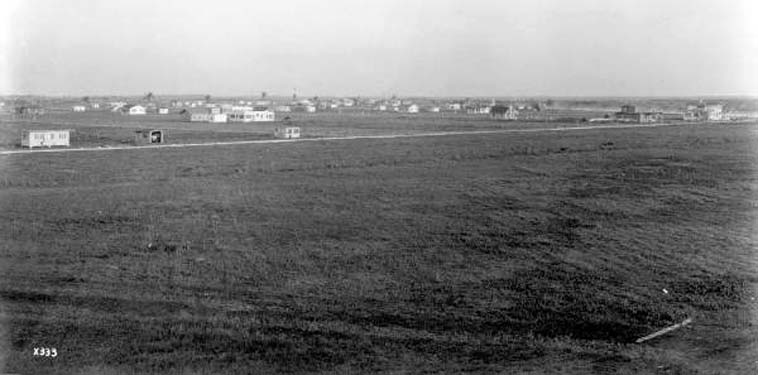 1921 - a view of the booming town of Hialeah