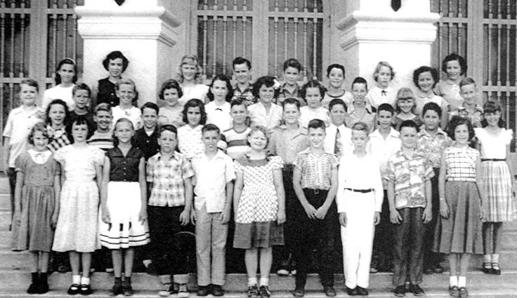 1952 - Mr. Nowakowskis 6th grade class at Coral Gables Elementary