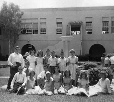 1956 - Mr. Leo Prices 6th grade class at William Jennings Bryan Elementary in North Miami
