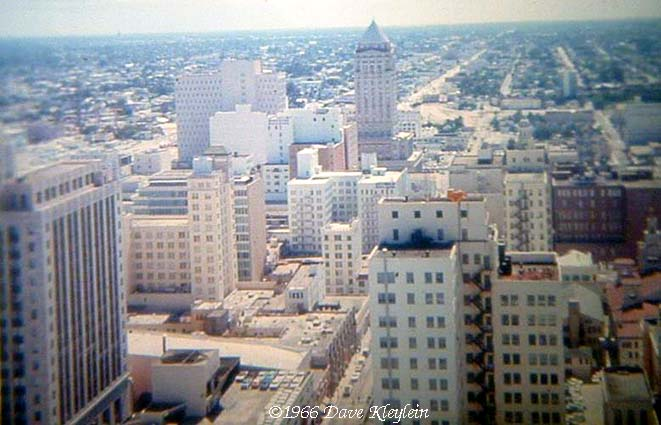 1966 - downtown Miami looking west