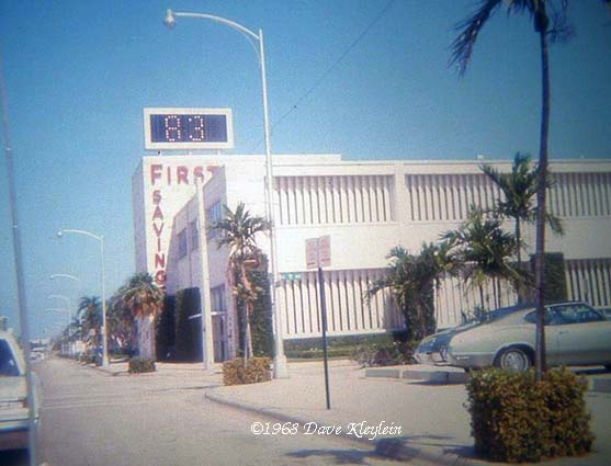 1968 - First Federal Savings and Loan Association of Miami in North Miami