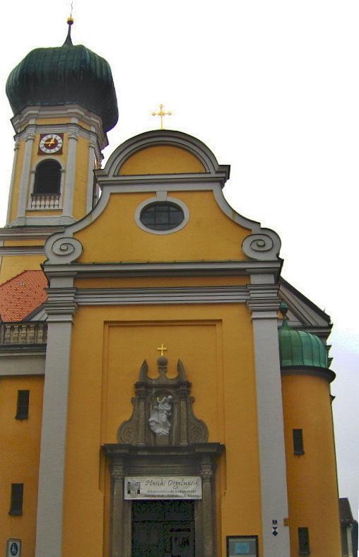 ST NIKOLAUS CHURCH  IMMENDSTADT