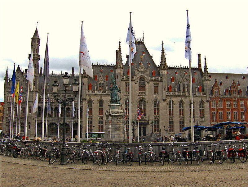 THE BICYCLES OF BRUGES