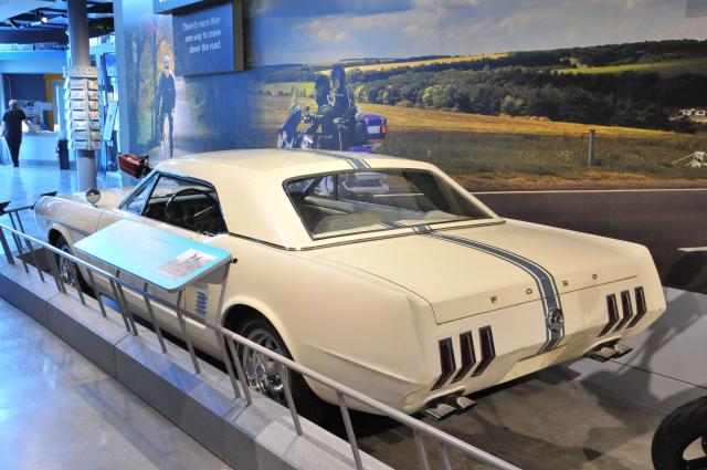 1963 Ford Mustang II Prototype.