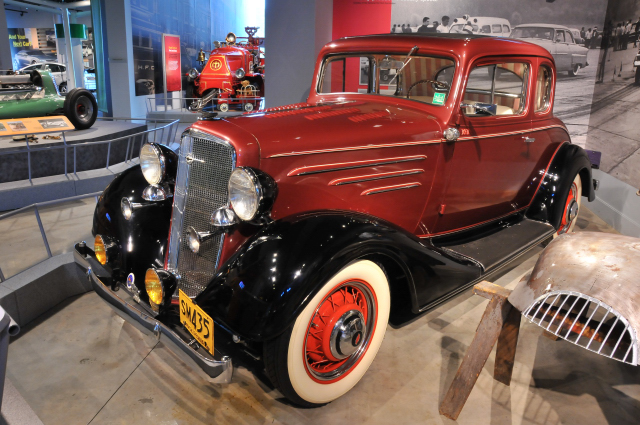 1934 Chevrolet Hot Rod Coupe, on loan from Don Bessler.