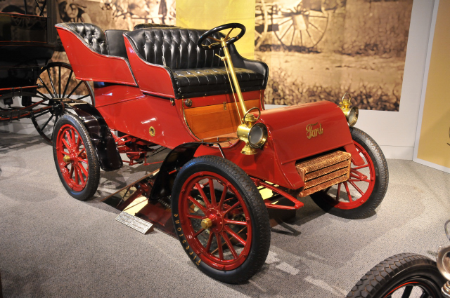 This 1903 Ford Model A Runabout was the first automobile in Allentown, PA. America On Wheels Collection.
