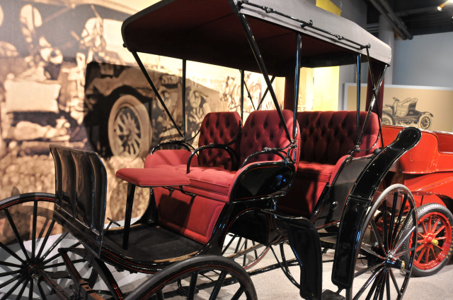 1890 Studebaker Carriage, AOW Collection.