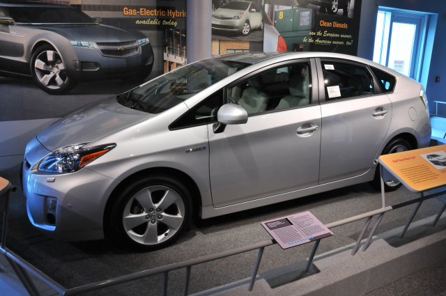 2009 Toyota Prius, 3rd generation gas-electric hybrid, on loan from Central Atlantic Toyota Distribution.