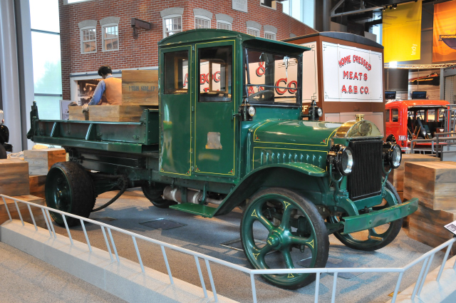 1922 Mack AB (AB Series), on loan from Mack Truck ...