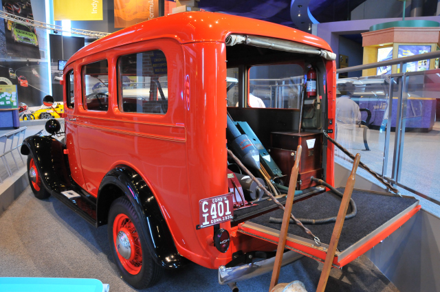 1935 Chevrolet Suburban Carryall Model EB -- an early SUV.
