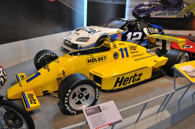 1986 Penske PC-15, once driven by Al Unser. On loan from Penske Racing.