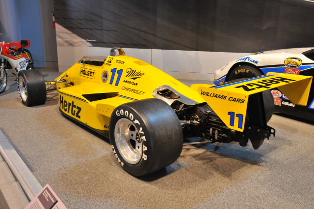 Al Unser qualified this 1986 Penske PC-15  to  6th on the grid of the 1986 Indianapolis 500, with an average speed of 211.5 mph.