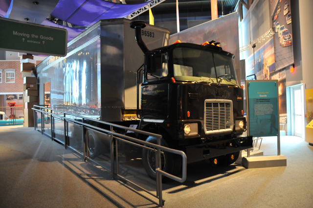 1979 Mack F785T (F Series), on loan from Mack Truck Historical Museum.