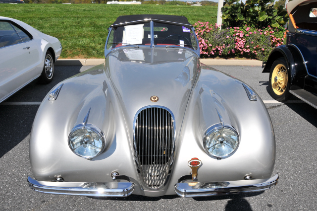 1952 Jaguar XK120 OTS, nut and bolt restoration done in 1997, $155,000