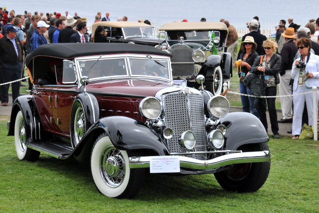 1933 Chrysler Imperial Custom LeBaron Phaeton (C-1: 3rd), Vernon and Ina Smith, Swift Current, Canada