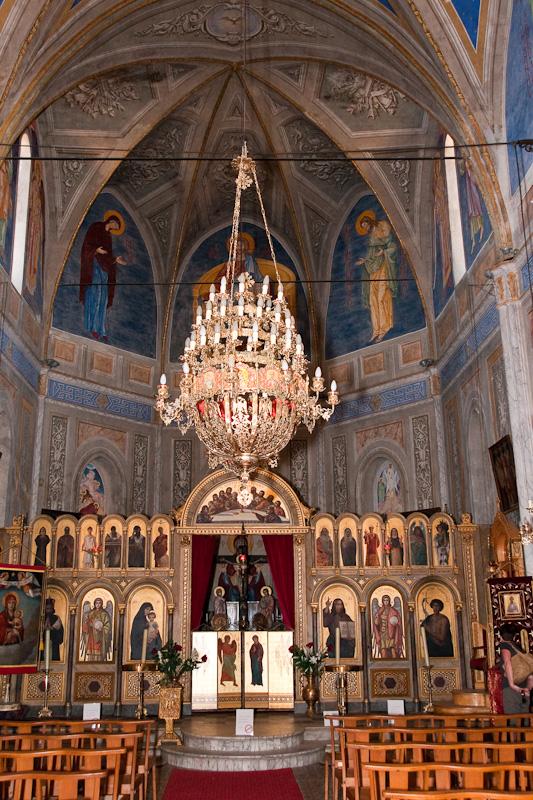 Greek church in Cargèse