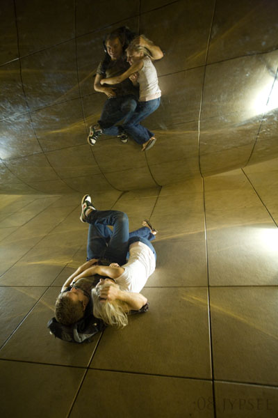 two reflected in the bean