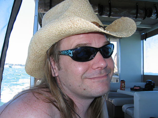sunburned cowboy